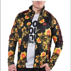 Nike Floral Track Top